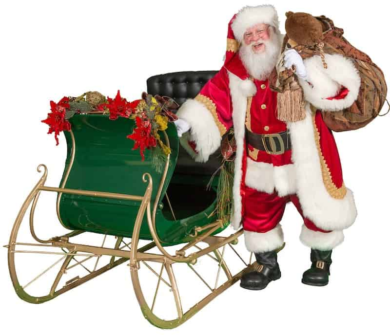 santa-sleigh-texarkana-santa